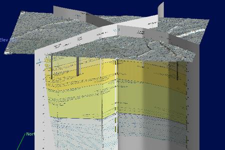 Foglio 202 - Cartografia 3D