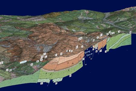 Foglio 236 - Cartografia 3D