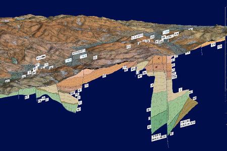 Foglio 237 - Cartografia 3D