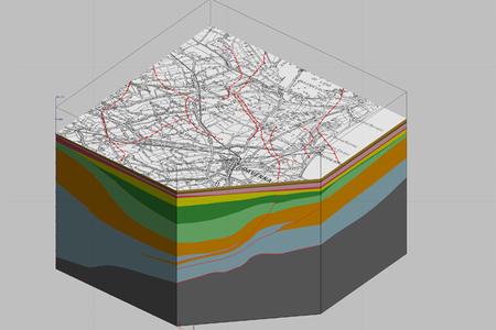 Ravenna - Unità e strutture geologiche del sottosuolo profondo - Modelli 3D