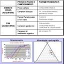 Diagrammi rappresentano i risultati di alcuni tipi di indagini specifiche eseguite durante la perforazione dei sondaggi