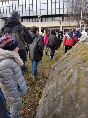 Visita al Museo geologico