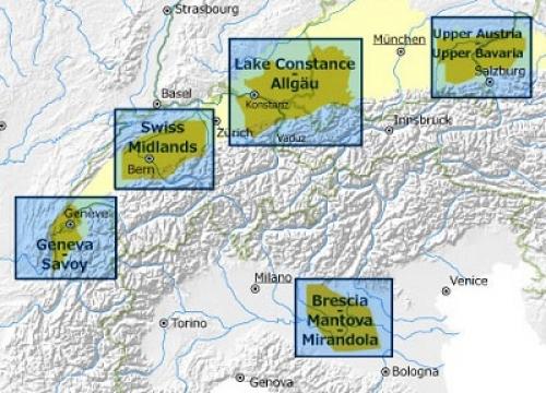 aree di modellazione Geomol
