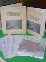 Volume di 77 pag. + Carta della destinazione del suolo + Carta dell'utilizzazione reale del suolo + Carta dei suoli + Carta della capacità d'uso dei suoli, anno 1984