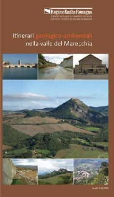 cover carta itinerari geologici della Val marecchia