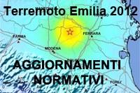 Aggiornamenti normativi sisma 2012