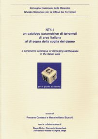 NT4.1, Un Catalogo Parametrico di Terremoti di Area Italiana al di sopra della soglia del danno