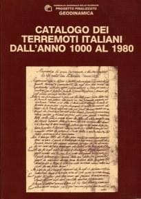 Catalogo dei Terremoti Italiani dall'anno 1000 al 1980