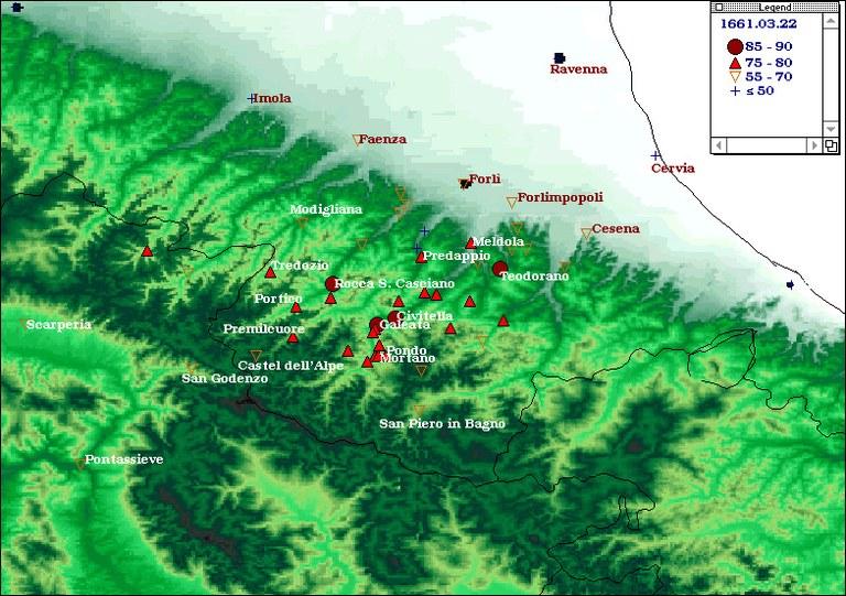 Terremoti del 1661 - Appennino romagnolo