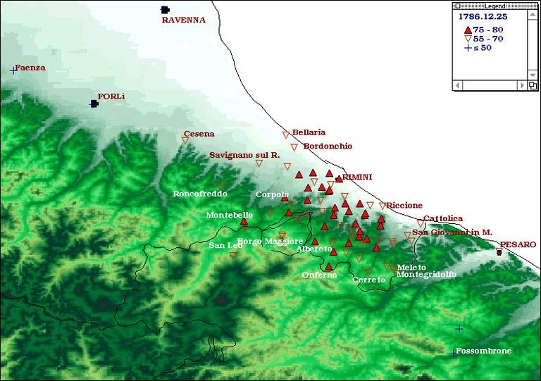 Terremoti del 1786 - Riminese