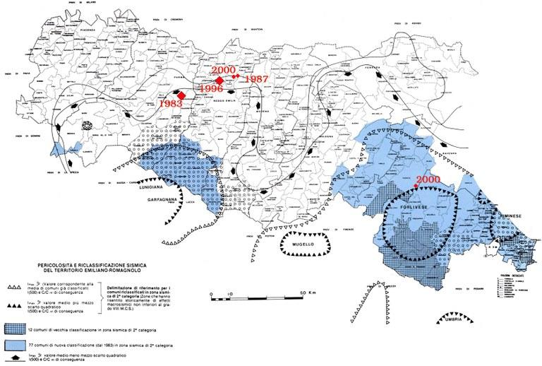 Pericolosità e riclassificazione sismica del territorio emiliano-romagnolo