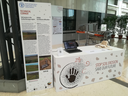 Foto - technical corner della Regione Emilia-Romagna al Global Simposium on Soil Erosion (Roma, maggio 2019)