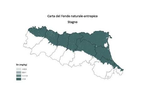Carta Fondo naturale antropico Stagno
