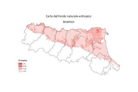 Carta Fondo naturale antropico Arsenico