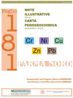 Note illustrative carta pedogeochimica 2006