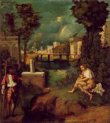 Giorgione, La tempesta (1500-1505)