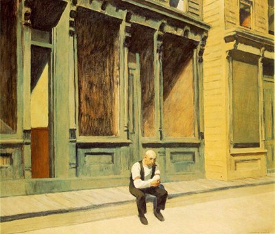 Edward Hopper, Sunday,1926