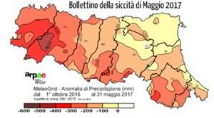 Bollettino siccità Arpae