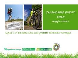 Calendario eventi ciclovia