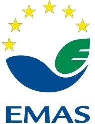 Logo EMAS bianco
