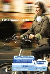 Sciame di Biciclette - Locandina