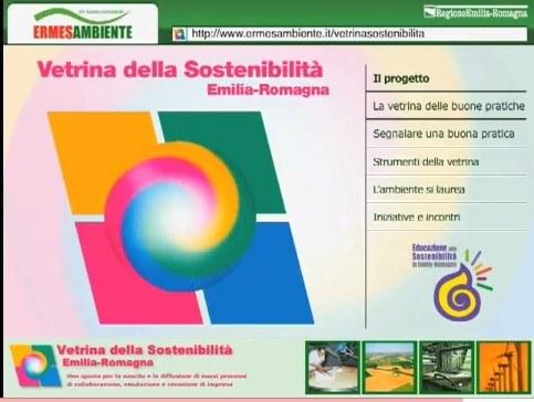 Vetrina della sostenibilità