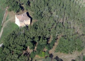 foto: veduta aerea dell'ARE Stellata (archivio Provincia di Ferrara)