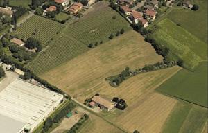 Veduta aerea dell'ARE Fontanile dell'Ariolo (Archivio Provincia di Reggio Emilia)