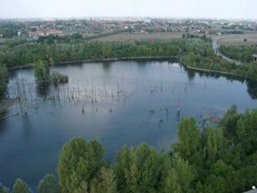 """foto: veduta aerea """"La Bora""""-  (Archivio Centro Agricoltura Ambiente)"""