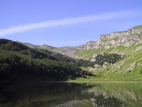 il lago Baccio - Archivio Parco