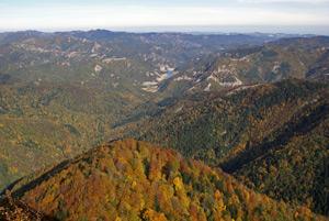 foto: Paesaggio autunnale da Monte Penna - autore G.Giacomini - archivio Parco