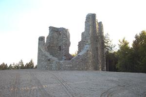 fortino della Sparavalle a Busana fatto costruire da Francesco IV (1828 - 1843) -archivio Parco