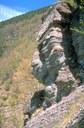 foto: affioramento roccioso nei pressi di Chiapporato - autore A.Mauri