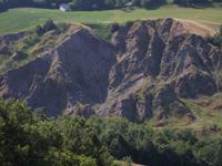 calanchi di argille rosse - Archivio Parco