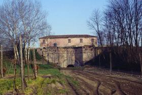 foto: Chiavicone nella Stazione 3: all'interno è ospitata una importante colonia di pipistrelli Ferro di cavallo maggiore (Archivio Riserva)