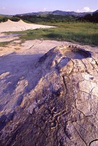 foto: cratere di un conetto - autore I.Bertogna (archivio riserva)