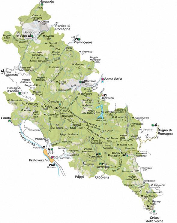 Mappa del Parco