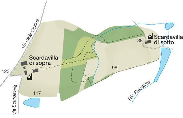 Mappa della Riserva