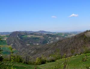 foto: Paesaggio protetto Val Tidone in provincia di Piacenza (autore Monica Palazzini archivio Servizio Parchi)