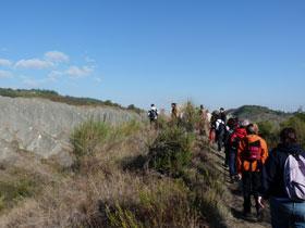 Foto: i calanchi del Parco dei Gessi bolognesi e Calanchi Abbadessa (autore: MV Biondi)