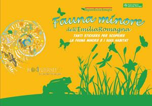 copertina libro Fauna minore - Tutela e conservazione in Emilia Romagna