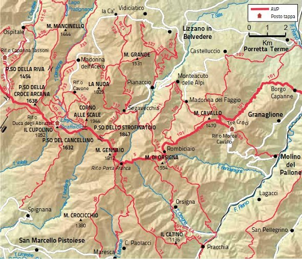 Mappa Tappa 10 grande