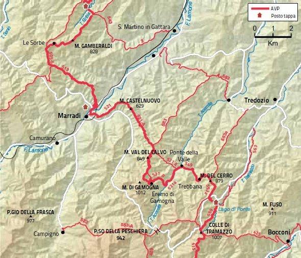 Mappa Tappa 18 grande