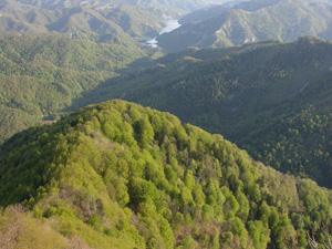foto: Panorama dal Monte Penna (Archivio Parco Foreste Casentinesi)
