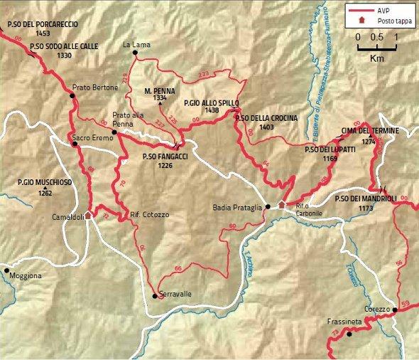 Mappa Tappa 23 grande
