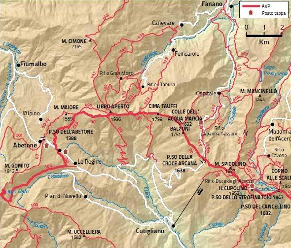 Mappa tappa 9