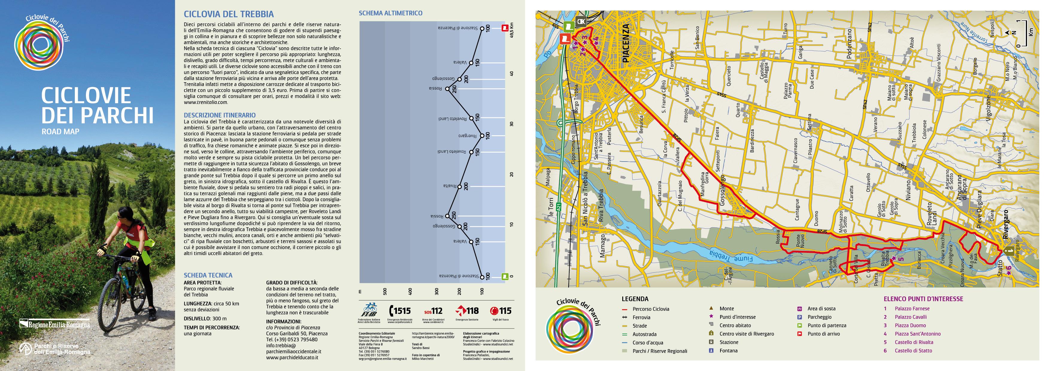 Trebbia Road Map