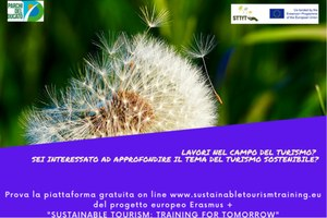 "Non si fermano le azioni del progetto Erasmus + ""Sustainable Tourism: Training for Tomorrow"""