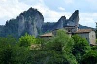Riaprono al pubblico il centro visite del Borgo dei sassi e la salita al Sasso della Croce nel Parco dei Sassi di Roccamalatina