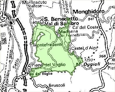Inquadramento territoriale di it4050032